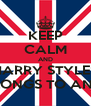 KEEP CALM AND HARRY STYLES BELONGS TO ANNA - Personalised Poster A4 size