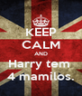 KEEP CALM AND Harry tem  4 mamilos. - Personalised Poster A4 size