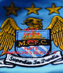 KEEP CALM AND HATE MANCHESTER CITY - Personalised Poster A4 size