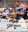 KEEP CALM AND hate Matt Giroux - Personalised Poster A4 size