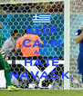KEEP CALM AND  HATE NAVAS K. - Personalised Poster A4 size