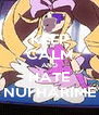 KEEP CALM AND HATE NUI HARIME - Personalised Poster A4 size