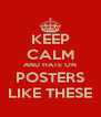 KEEP CALM AND HATE ON POSTERS LIKE THESE - Personalised Poster A4 size