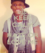 KEEP CALM AND HATE OR LOVE ME - Personalised Poster A4 size