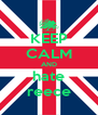 KEEP CALM AND hate reece - Personalised Poster A4 size
