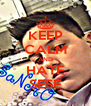 KEEP CALM AND HATE SESE - Personalised Poster A4 size