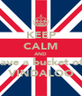 KEEP CALM AND have a bucket of  VINDALOO - Personalised Poster A4 size