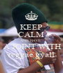 KEEP CALM AND HAVE   A JOINT WITH reggae gyall - Personalised Poster A4 size