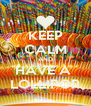 KEEP CALM AND HAVE A  LOLLIPOP - Personalised Poster A4 size