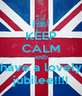 KEEP CALM AND have a lovely jubilee!!!! - Personalised Poster A4 size