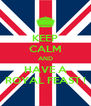 KEEP CALM AND HAVE A ROYAL FEAST ! - Personalised Poster A4 size