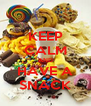 KEEP CALM AND HAVE A SNACK - Personalised Poster A4 size