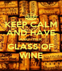 KEEP CALM AND HAVE ANOTHER GLASS OF WINE - Personalised Poster A4 size