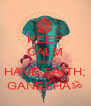 KEEP CALM AND HAVE FAITH; GANESHAॐ - Personalised Poster A4 size