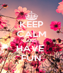 KEEP CALM AND HAVE  FUN - Personalised Poster A4 size