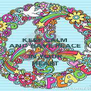 KEEP CALM AND HAVE PEACE  IN YOUR HEART - Personalised Poster A4 size