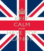 KEEP CALM AND HAVE POP CANDY - Personalised Poster A4 size