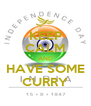 KEEP CALM AND HAVE SOME CURRY - Personalised Poster A4 size