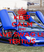 KEEP CALM AND HAVE SWAG LIKE TERTIUS - Personalised Poster A4 size