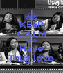 KEEP CALM AND Have Thug love - Personalised Poster A4 size