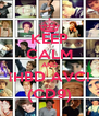 KEEP CALM AND ¡HBD AVC! (CD9) - Personalised Poster A4 size