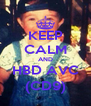 KEEP CALM AND HBD AVC (CD9) - Personalised Poster A4 size