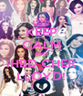 KEEP CALM AND ¡HBD CHER LLOYD! - Personalised Poster A4 size