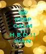 KEEP CALM AND H.B.D.!! IVAN - Personalised Poster A4 size