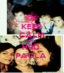 KEEP CALM AND HBD  PAOLA  - Personalised Poster A4 size