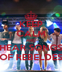 KEEP CALM AND HEAR SONGS OF REBELDES - Personalised Poster A4 size
