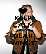 KEEP CALM AND HEAR WING$ - Personalised Poster A4 size