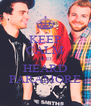 KEEP CALM AND HEARD PARAMORE - Personalised Poster A4 size