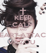 KEEP CALM AND HEART ATTACK VAZOU  - Personalised Poster A4 size