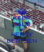 KEEP CALM AND HENRY BENTSEN - Personalised Poster A4 size