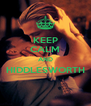 KEEP CALM AND HIDDLESWORTH  - Personalised Poster A4 size