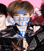 KEEP CALM AND HIT ME - Personalised Poster A4 size