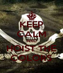 KEEP CALM AND HOIST THE COLORS - Personalised Poster A4 size