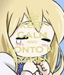 KEEP CALM AND HONTO NI GOMEN - Personalised Poster A4 size
