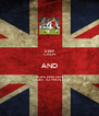 KEEP CALM AND HOPE ERIKSEN GOES TO MAN U - Personalised Poster A4 size