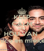 KEEP CALM AND  HOU VAN  nico en mieke - Personalised Poster A4 size