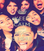 KEEP CALM AND HSC  IS HERE - Personalised Poster A4 size