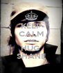 KEEP CALM AND HUG  SHANE - Personalised Poster A4 size