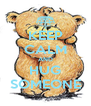 KEEP CALM AND HUG SOMEONE - Personalised Poster A4 size