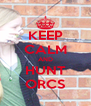 KEEP CALM AND HUNT ORCS - Personalised Poster A4 size