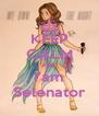 KEEP CALM AND I'am Selenator - Personalised Poster A4 size