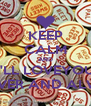 KEEP CALM AND I'LL LOVEYOU FOREVER AND ALWAYS - Personalised Poster A4 size