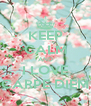 KEEP CALM AND I LOVE CARPE DIEM - Personalised Poster A4 size