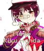 KEEP CALM AND I love Kiku Honda - Personalised Poster A4 size