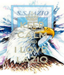 KEEP CALM AND I LOVE  LAZIO - Personalised Poster A4 size
