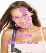 Keep calm and  I love Macarena  - Personalised Poster A4 size